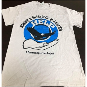 ISE Project HELP T-shirt Front